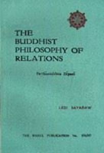 Picture of The Buddhist Philosophy of Relations