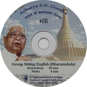 Picture of Group Sitting, Dharamshala (English, Long Instructions)