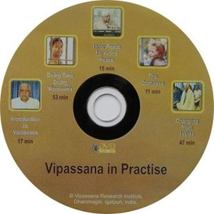 Picture of Vipassana In Practice (5 film titles on one dvd)